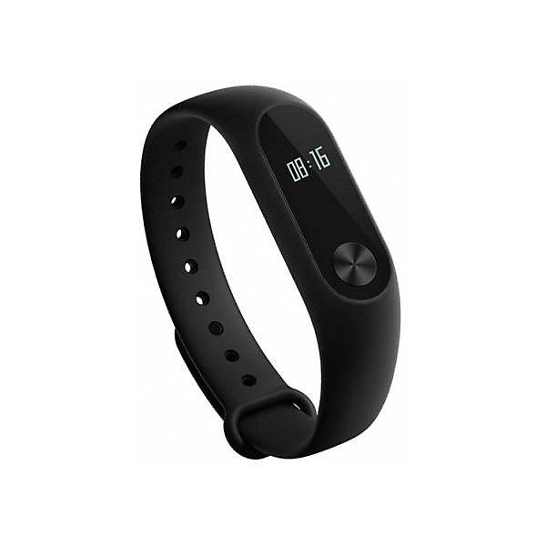 Фитнес-браслет Xiaomi Mi Band 2, черныйЧасы<br>Характеристика:<br><br>• материал: силикон, пластик<br>• сенсорный OLED дисплей<br>• шагомер, пульсометр<br>• датчик движения ADI<br>• виброзвонок<br>• аккумулятор: 70 mAh<br>• поддержка: Android, iOS<br>• поддержка: Bluetooth 4.2 BLE<br>• регулируемый ремешок<br>• рейтинг IP 67<br>• страна бренда: Китай<br><br>Фитнес-браслет — не просто устройство для показа времени, это современный гаджет, управлять которым совсем несложно с помощью сенсора в виде диска. Данные отображаются на трех главных экранах. Устройство легко синхронизируется со смартфоном. С помощью браслета владелец будет мотивирован на более активный образ жизни и сможет узнать какое расстояние он преодолел, а также измерить свой пульс. Устройство может уведомлять о различных событиях за счет вибрации и отображать на экране соответствующие уведомления. Отличительной особенностью данной модели является то, что она может показывать данные на дисплее от движения, а именно, при взмахе кистью.
