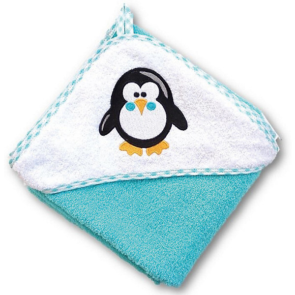 Uviton Baby Полотенце для купания Uviton Baby 100х100 см, Пингвин цена