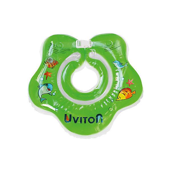 Круг для купания Uviton, Uviton Baby, Китай, зеленый, Унисекс  - купить со скидкой
