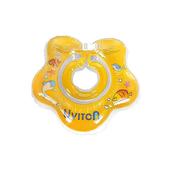 Купить Круг для купания Uviton, Uviton Baby, Китай, желтый, Унисекс