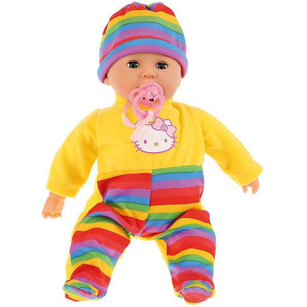 Карапуз Интерактивная кукла-пупс Hello Kitty 35 см, плачет