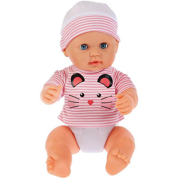 Карапуз Интерактивная кукла-пупс 40 см, озвученная
