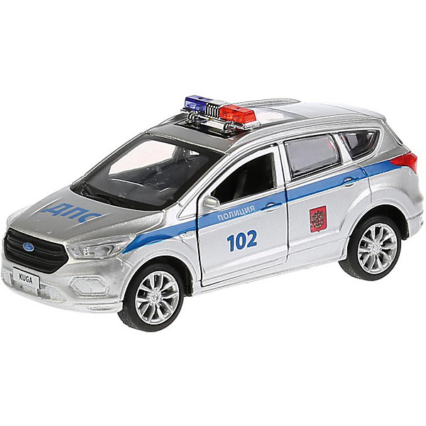 Фото - ТЕХНОПАРК Машинка Технопарк Ford Kuga Полиция, 12 см технопарк машинка технопарк урал 5557 полиция 12 см