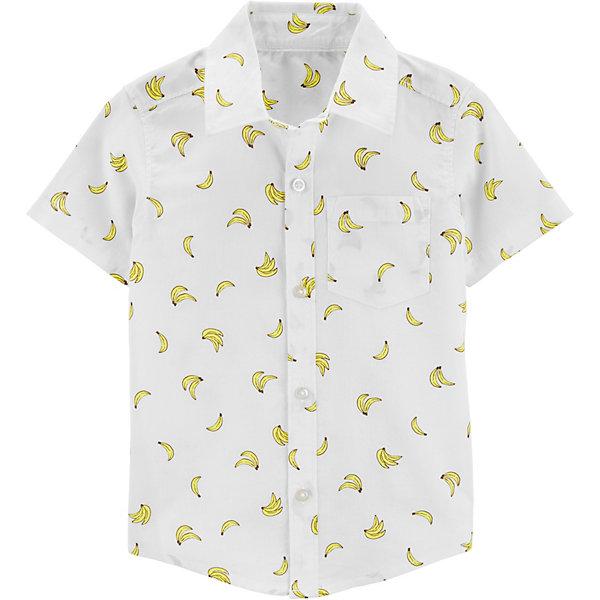 carter`s Рубашка carter's для мальчика рубашка с рисунком raspberry