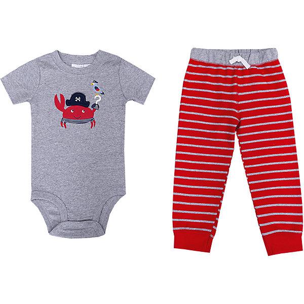 цены carter`s Комплект: боди и брюки carter's для мальчика