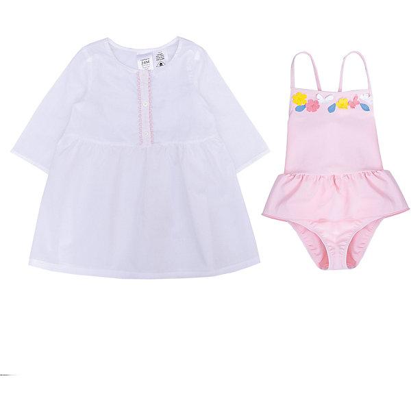 Комплект: купальник и туника carter's для девочки Carter`s