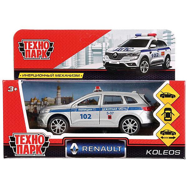ТЕХНОПАРК Инерционная машина Технопарк Renault Koleos, Полиция внедорожник технопарк renault koleos koleos bu gn sl bk 12 см черный