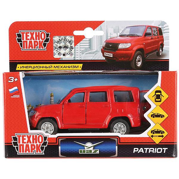 Купить Инерционная машина Технопарк УАЗ Patriot, красный, ТЕХНОПАРК, Китай, разноцветный, Мужской