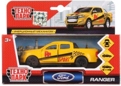 ТЕХНОПАРК Инерционная машина Технопарк Пикап Ford Ranger, Cпорт