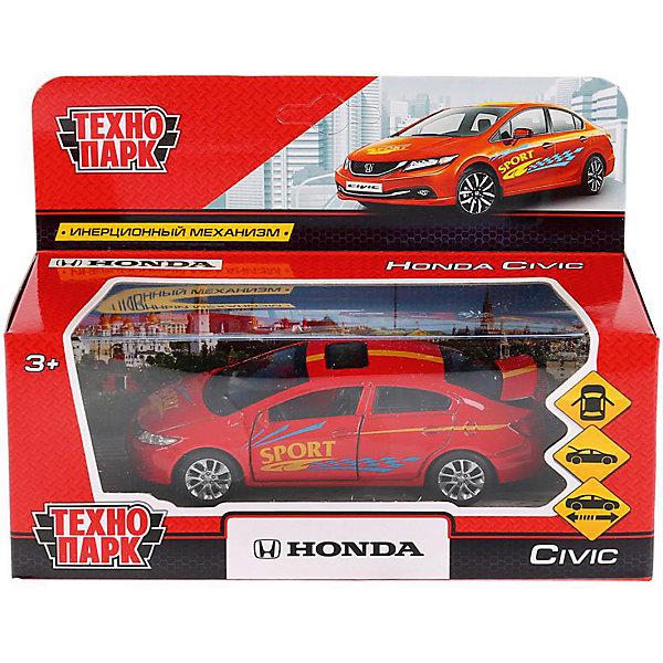 Купить Инерционная машина Технопарк Honda Civic, Спорт, ТЕХНОПАРК, Китай, разноцветный, Мужской