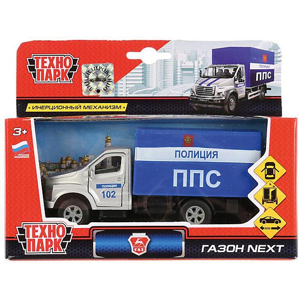 Купить Инерционная машина Технопарк ГАЗ Газон Next, Полиция, ТЕХНОПАРК, Китай, разноцветный, Мужской