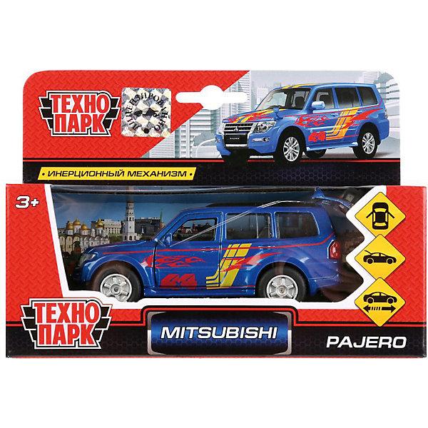 Купить Инерционная машина Технопарк Mitsubishi Pajero Sport, ТЕХНОПАРК, Китай, разноцветный, Мужской