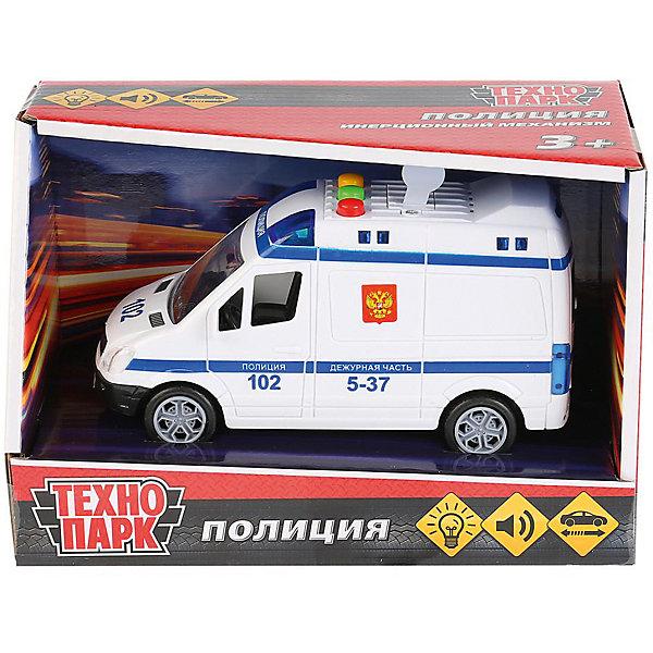 цена на ТЕХНОПАРК Инерционная машина Технопарк Микроавтобус, Полиция