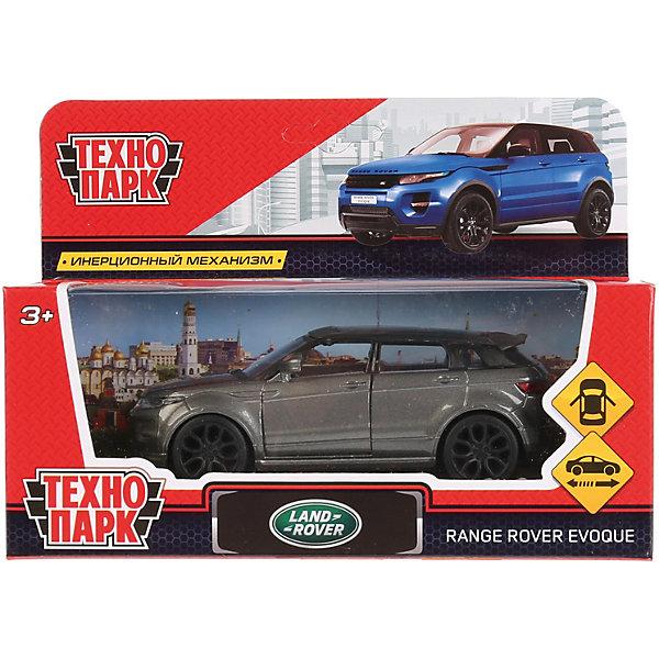 цена на ТЕХНОПАРК Инерционная машина Технопарк Land Rover, Range Rover Evoque, серый