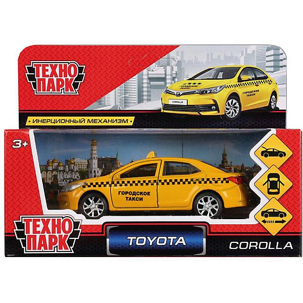 Купить Инерционная машина Технопарк Toyota Corolla, Такси, ТЕХНОПАРК, Китай, разноцветный, Мужской