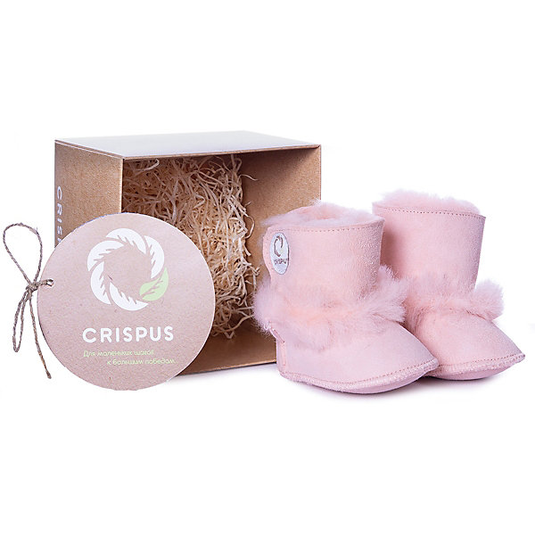 Купить Пинетки Crispus, Китай, розовый, 18, 19, 16, Женский