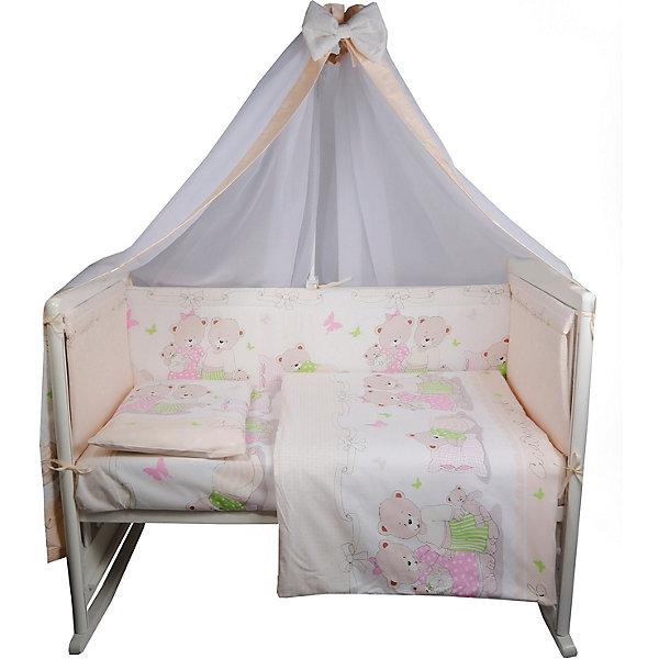 Эдельвейс Комплект в кроватку Сладких снов, 7 предметов