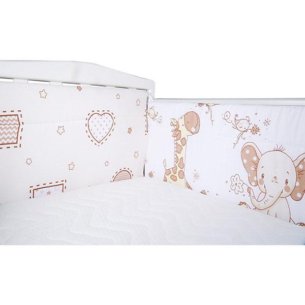Эдельвейс Бортик на кроватку Африка, 40х360 см