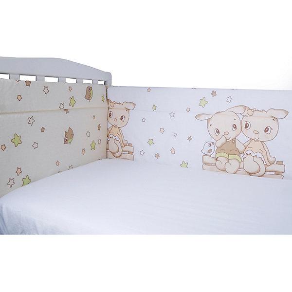 Эдельвейс Бортик на кроватку Друзья, 40х360 см