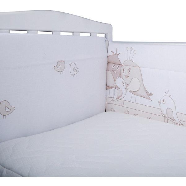 Эдельвейс Бортик на кроватку Птички,