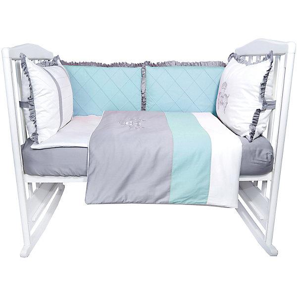 Эдельвейс Комплект в кроватку Эдельвейс Версаль, 6 предметов