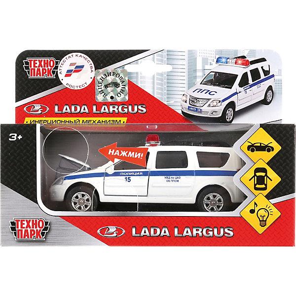 Купить Машина Технопарк «Лада Ларгус Полиция», ТЕХНОПАРК, Китай, Мужской