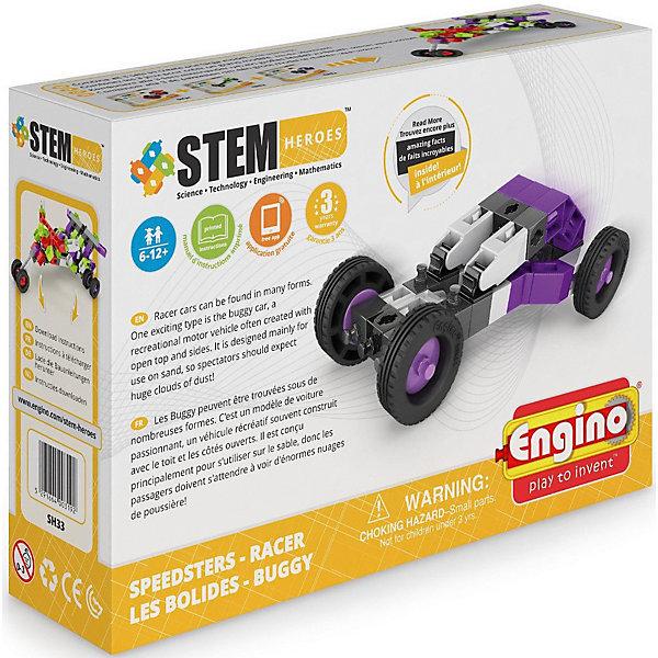 Конструктор Engino Скоростные механизмы: РейсерПластмассовые конструкторы<br>Характеристики:<br><br>• в наборе: 42 детали, инструкция, познавательная листовка<br>• страна бренда: Кипр<br><br>Трехмерный конструктор — не только интересная игрушка, но также средство для развития ребенка. С его помощью можно собрать объемную модель гоночного автомобиля. Сделать это совсем несложно, главное, следовать инструкции. Благодаря специальной листовке можно получить информацию о собранной машине. Отличительной особенностью конструктора является возможность просмотра интерактивных 3D-инструкций, используя бесплатное приложение ENGINO 3D Viewer kidCAD. Также ребенок может собрать другие фигурки, используя свою фантазию. Занятия с конструктором могут помочь развить мелкую моторику рук, зрительное восприятие объема и цвета. Изделие изготовлено из высококачественного, износостойкого и безопасного для здоровья материала. Все конструкторы из серии Скоростные механизмы можно совмещать и комбинировать между собой.