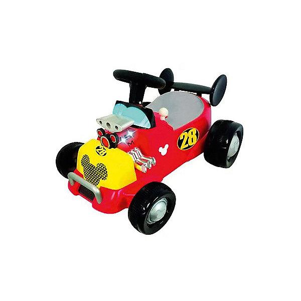 Купить Каталка - автомобиль Kiddieland Спортивная машина Микки Мауса , Китай, красный, Мужской