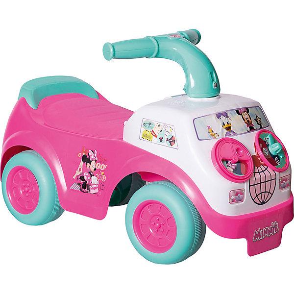 Каталка - автомобиль Kiddieland Милашка Минни , Китай, розовый/белый, Женский  - купить со скидкой