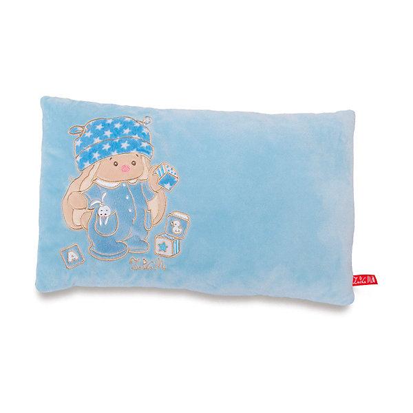 Купить Декоративная подушка Budi Basa Зайка Ми, голубая, Россия, голубой, Унисекс