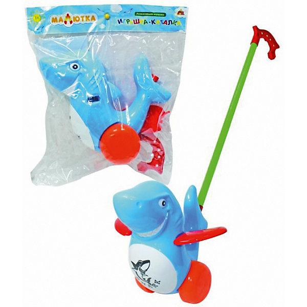 Каталка Тилибом, ДельфинКаталки и качалки<br>Характеристики:<br><br>• материал: пластмасса<br>• упаковка: пакет<br><br>Ручка имеет удобную рукоятку, за которую каталку можно возить не только вперед, но и назад. Игрушка выполнена в виде морского млекопитающего. Ласты контрастного цвета при движении поднимаются и опускаются.
