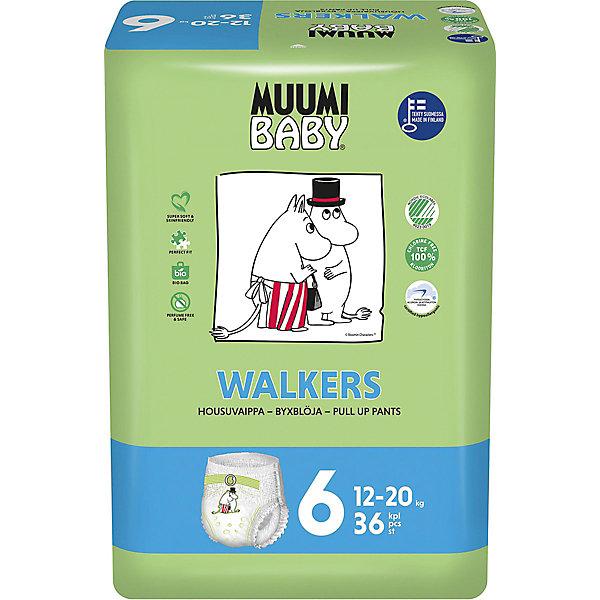 Muumi Подгузники-трусики Junior 12-20 кг, 36 штук
