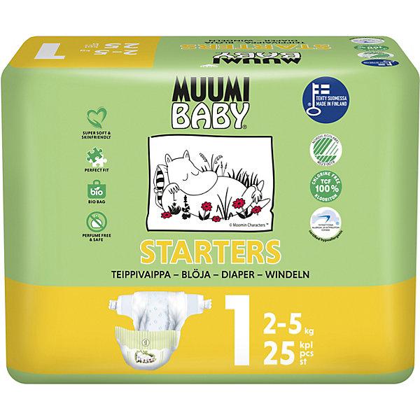 Muumi Подгузники Muumi Mini 2-5 кг, 25 штук