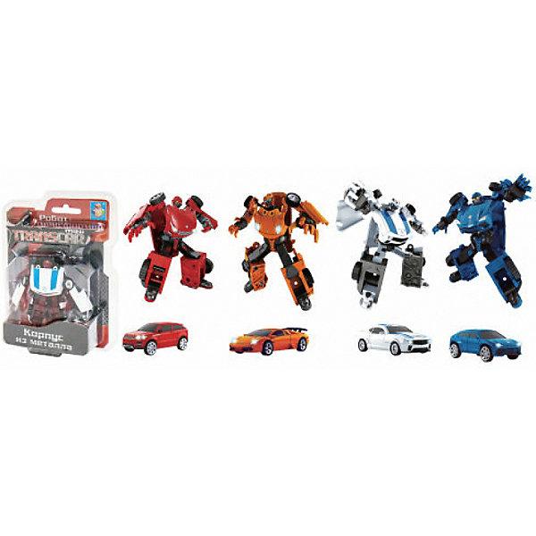 1Toy Робот-трансформер Transcar mini, автомобиль