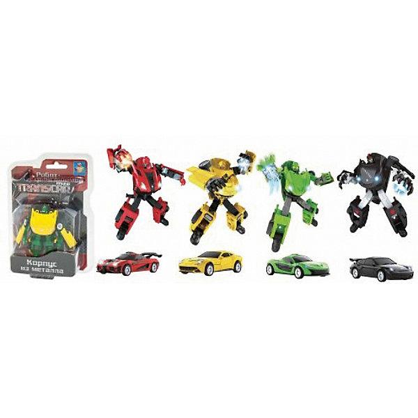 1Toy Робот-трансформер Transcar mini, спорткар