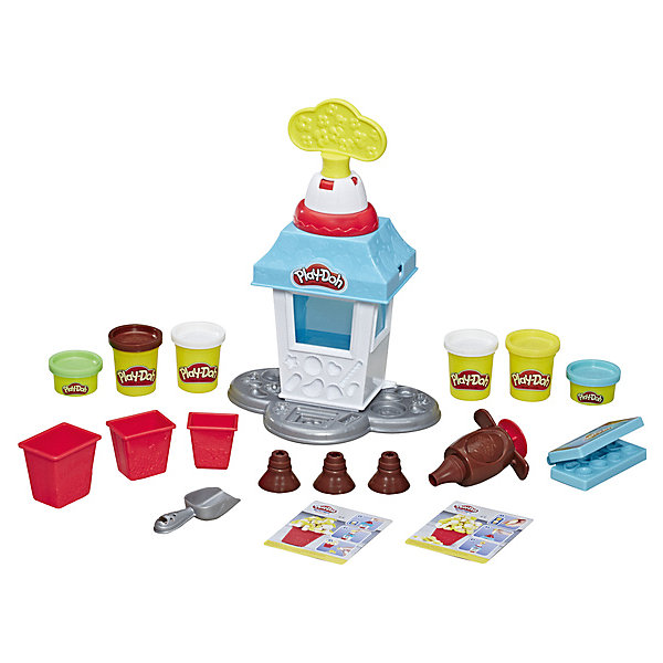 Купить Игровой набор Play-Doh Kitchen Creations Попкорн-Вечеринка, Hasbro, Китай, Унисекс