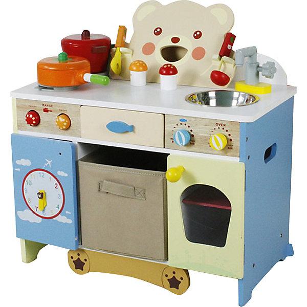 Купить Кухня деревянная ТЭДДИ , c аксессуарами, Lanaland, Китай, разноцветный, Женский