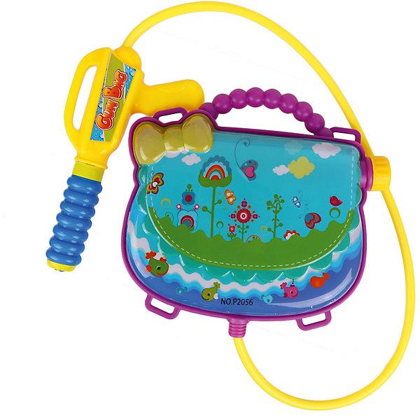Наша Игрушка Водяной бластер с рюкзаком Сумочка