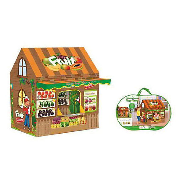Наша Игрушка Игровая палатка Фруктовый магазин, 110*100*70 см