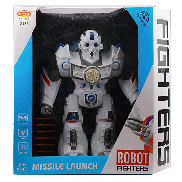 Наша Игрушка Радиоуправляемый робот игрушка, со светом и звуком