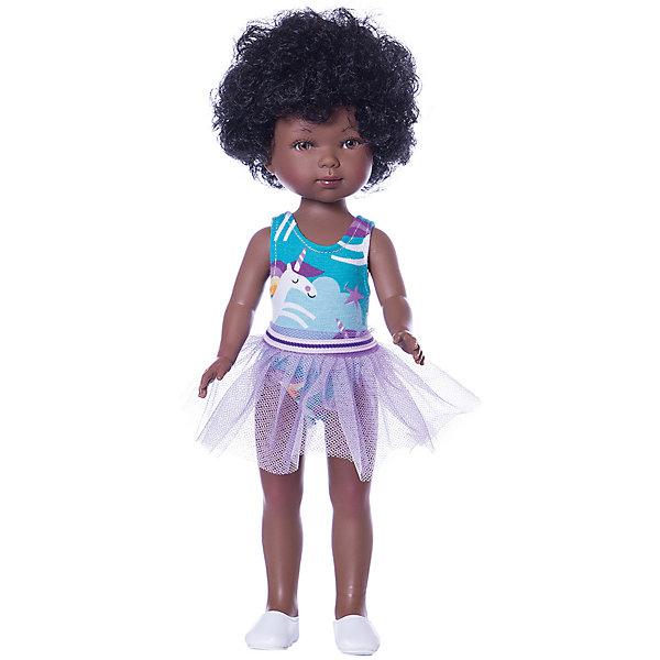 Купить Кукла Vestida de Azul Карлотта африканка, балерина, 28 см, Испания, разноцветный, Женский