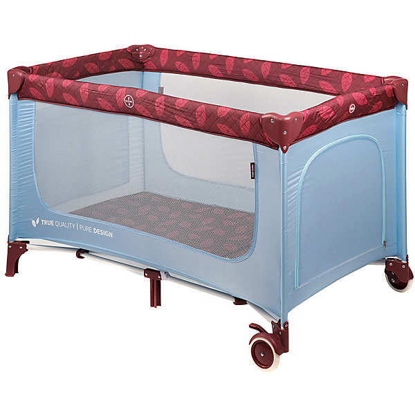Happy Baby Кровать-манеж Martin, голубой