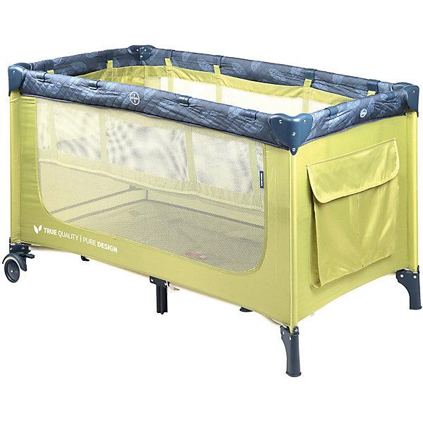 Happy Baby Кровать-манеж Martin, зелёный
