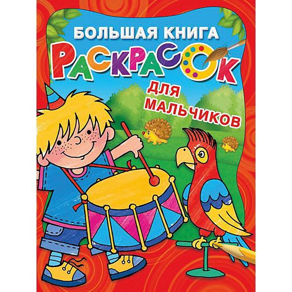 Издательство АСТ Большая книга раскрасок Для мальчиков, Л. Двинина
