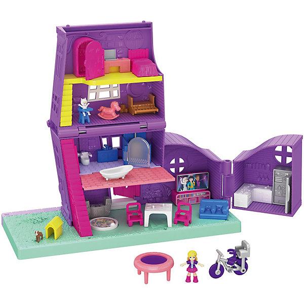 Купить Игровой набор Polly Pocket Дом Полли, Mattel, Китай, Женский