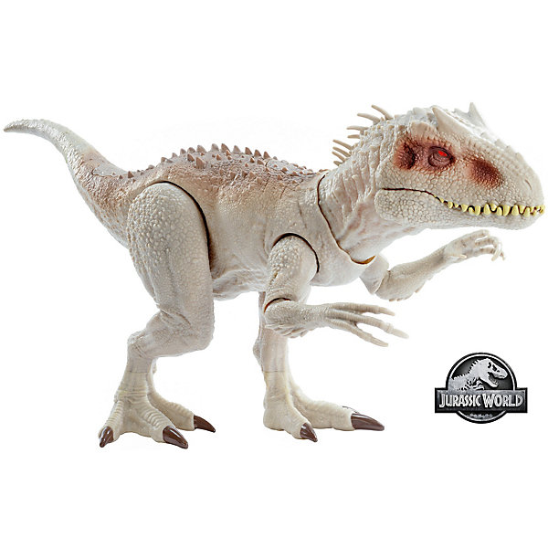 Mattel Игровая фигурка Jurassic World Индоминус Рекс, свет и звук