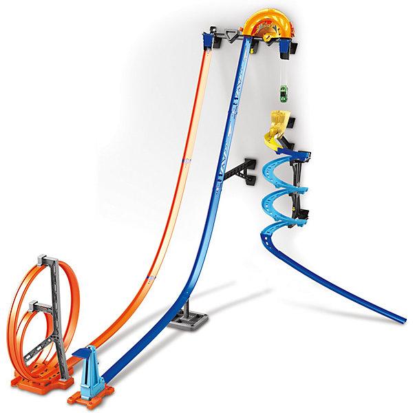 Mattel Автотрек Hot Wheels Track Builder Гонки по вертикали все цены
