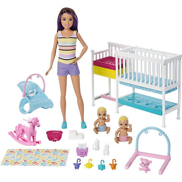 Mattel Игровой набор Barbie Скиппер и малыши