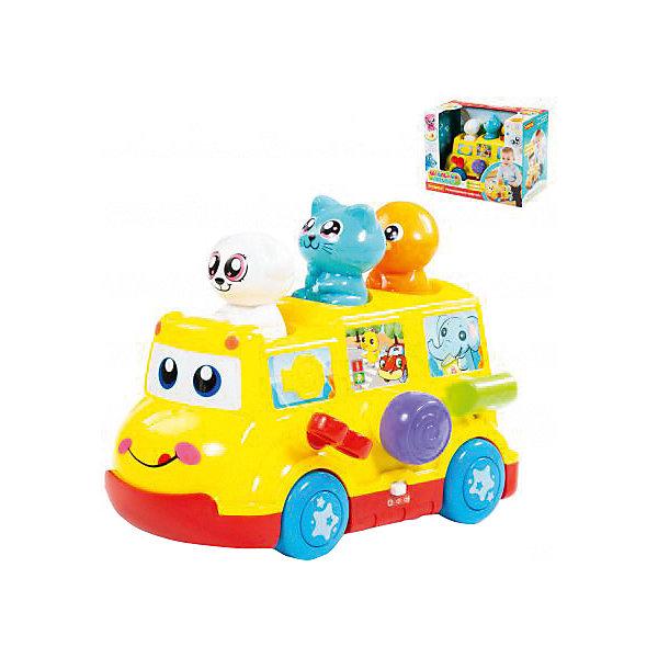 Полесье Развивающая игрушка Школьный автобус