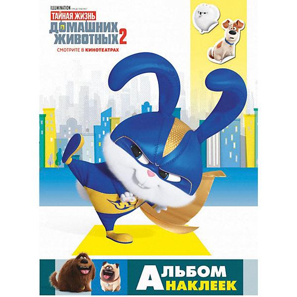 Издательство АСТ Альбом наклеек Тайная жизнь домашних животных 2, Снежок